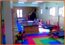 Gym Hall - Part of our professional gymnastic hall