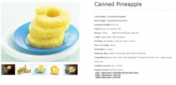 canned pinneapple