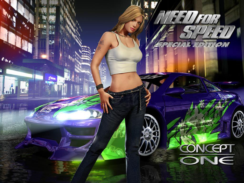 Tapety na plochu pc - Need for speed underground 1 wallpaper ...