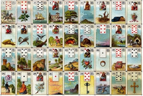 Lenormand French cartomancy