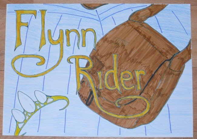 Tangled wallpaper Flynn Rider