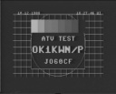 ATV test OK1KWN(1988)