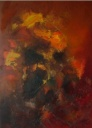 Earth and fire - 140 x 100 cm